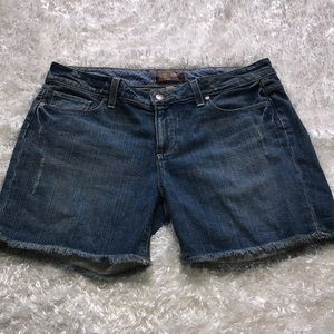 Paige Distressed Jean Shorts Size 29 P18